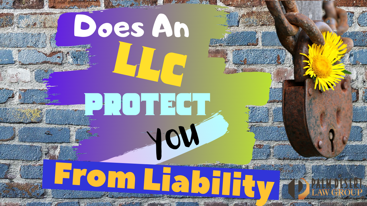 Does An LLC Protect You From Liability YT